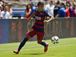 El barcelonista Rafinha es baja en la Copa América. (Foto: Getty)