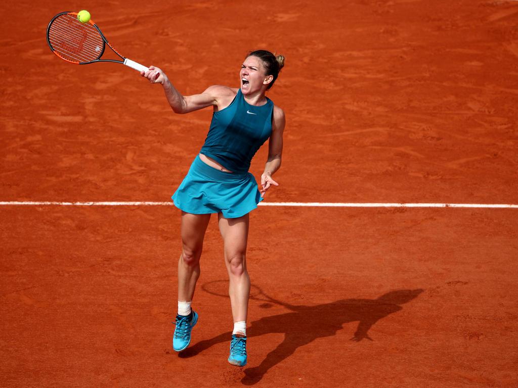 Simona Halep steht im Finale der French Open