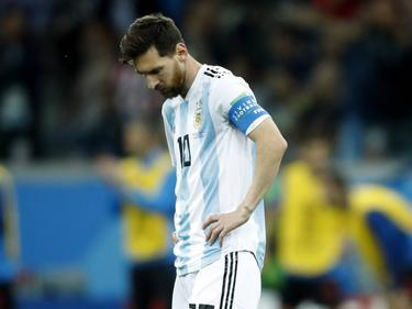 Messi está siendo señalado como culpable de la debacle en Argentina. (Foto: Getty)