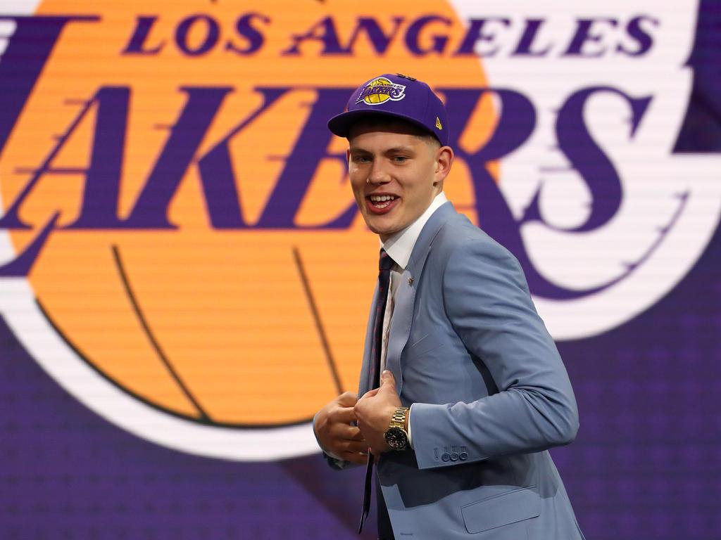 Moritz Wagner wurde von den LA Lakers gedraftet
