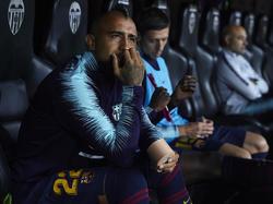 Vidal se encuentra en Barcelona muchas veces en el banquillo. (Foto: Getty)