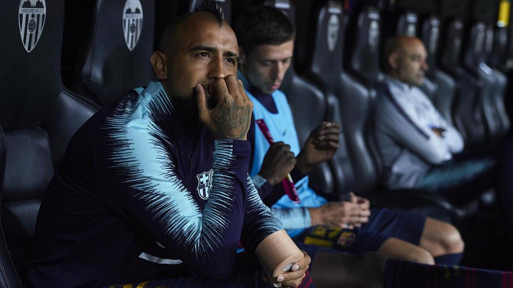 Beim FC Barcelona hat Arturo Vidal noch kein einziges Mal durchgespielt