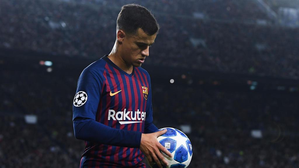Barcelonas Philippe Coutinho fällt in den kommenden Wochen aus