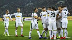 Bei Borussia Mönchengladbach ist die Laune vor dem BVB-Duell gut