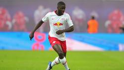 Nach langer Verletzung hat Leipzigs Dayot Upamecano wieder das Training aufgenommen