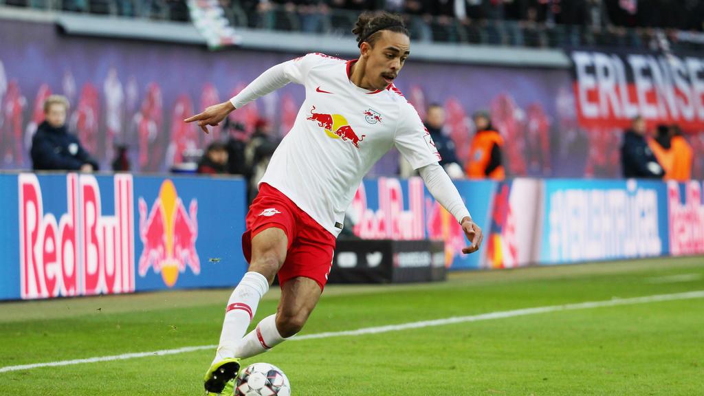 Yussuf Poulsen spielt seit 2013 bei RBLeipzig