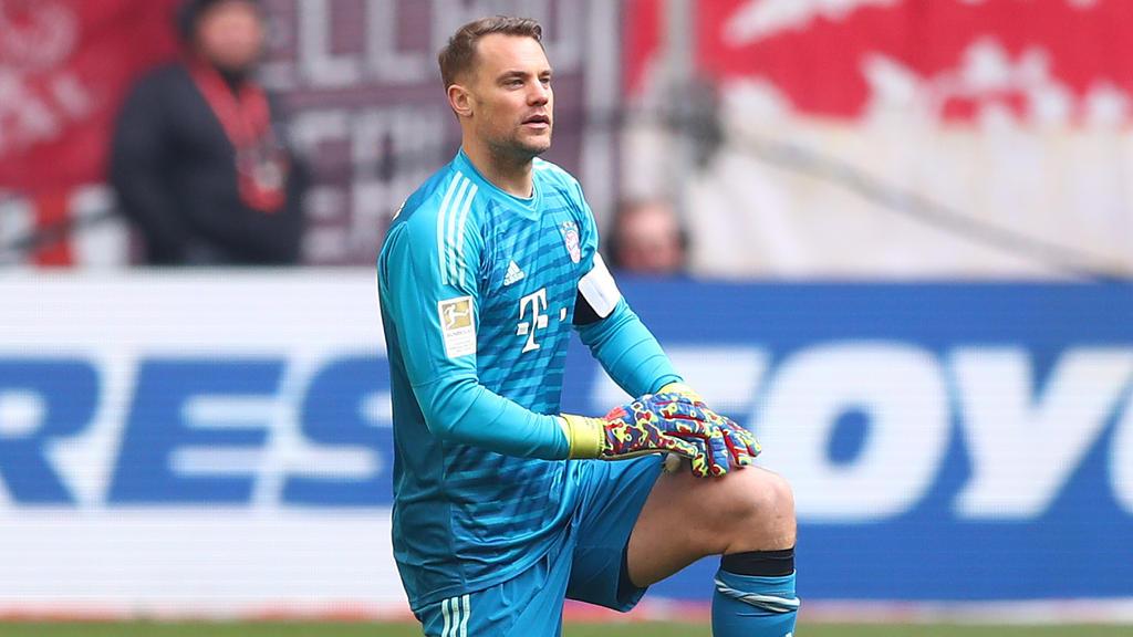 Manuel Neuer vom FC Bayern fällt mehrere Wochen aus