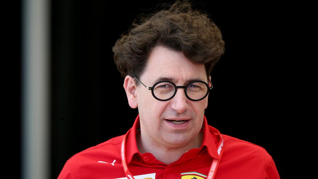 Mattia Binotto leitete seit dieser Saison die Geschicke bei Ferrari