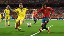 Die Spanier setzten sich gegen Schweden in der EM-Quali durch