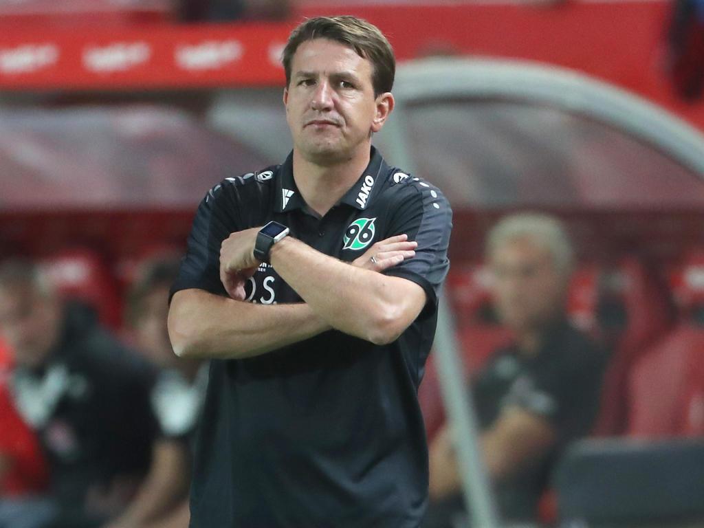 Daniel Stendel ist offenbar nicht mehr Trainer in Hannoover