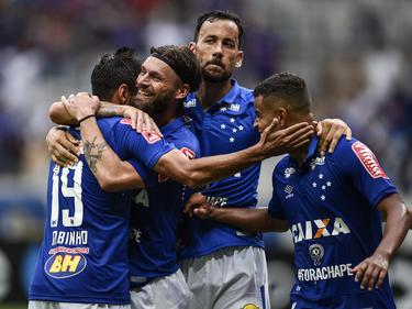 Celebración de los jugadores del Cruzeiro en una imagen de archivo. (Foto: Getty)