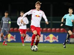Niclas Stierlin will sich bei RB Leipzig durchsetzen