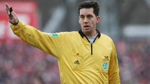 Manuel Gräfe pfeift seit über zehn Jahren in der Bundesliga
