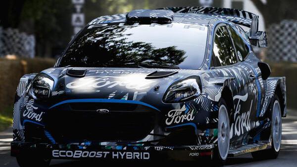 Ford hat sich für die Rallye-WM 2022 für den Puma entschieden
