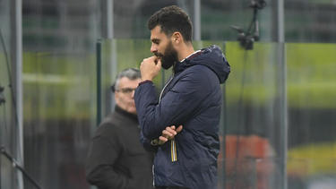 Spezia-Trainer Thiago Motta und sein Team müssen in Quarantäne