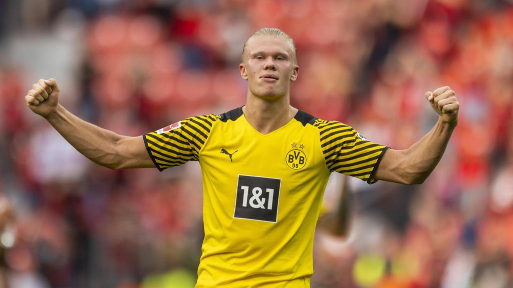 Erling Haaland vom BVB ist Spieler des Monats August