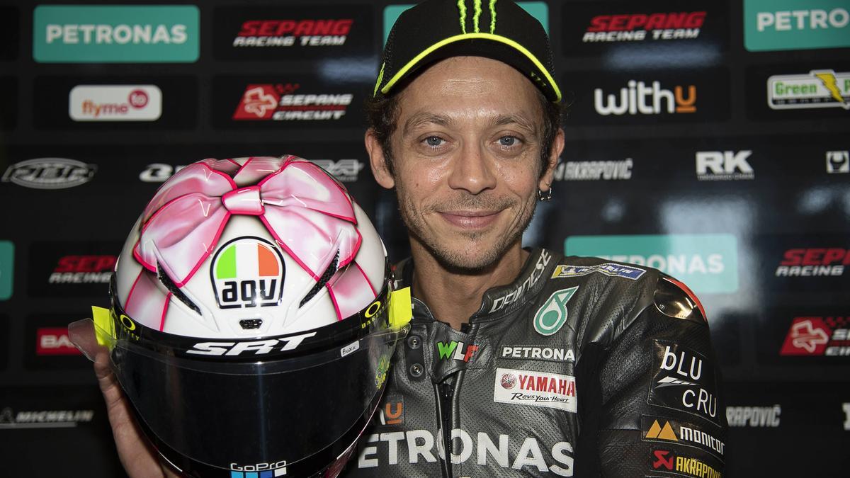 Bedankt sich bei den MotoGP-Fans: Valentino Rossi