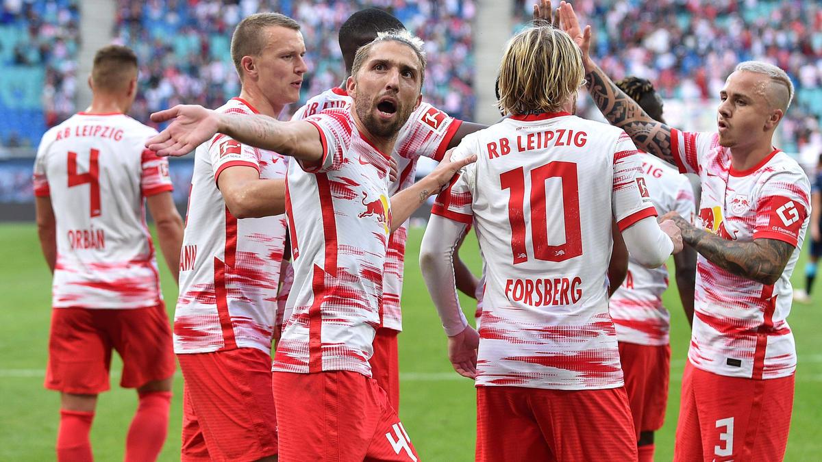 RB Leipzig feierte gegen Hertha BSC einen 6:0-Kantersieg
