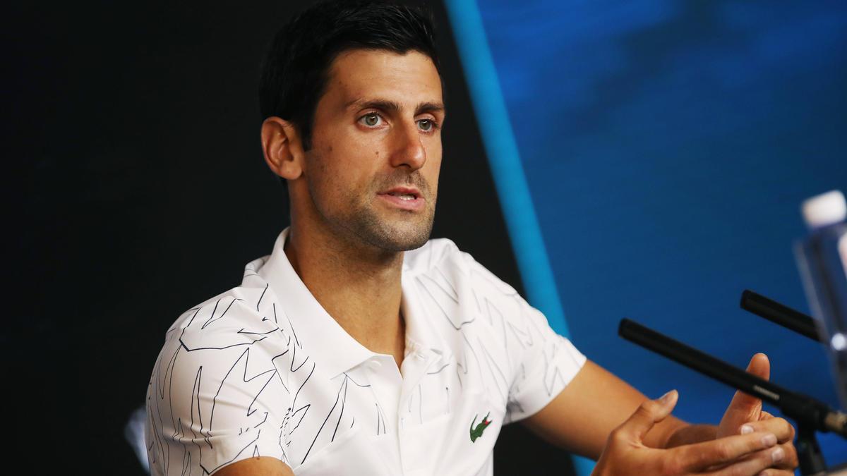 Novak Djokovic hofft, dass sich die Luftqualität in Australien weiter verbessert