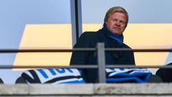 Oliver Kahn freute sich über den Sieg des FC Bayern