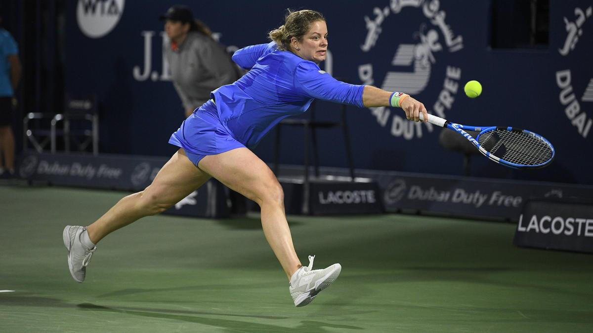 Kim Clijsters zeigte bei ihrem Comeback eine starke Leistung