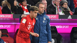 Philippe Coutinho vom FC Bayern lobte seinen Trainer Hansi Flick