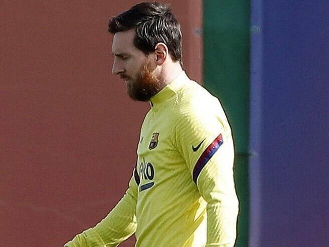 Messi en la ciudad deportiva culé.