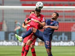 Victoria importante del líder en Leverkusen.