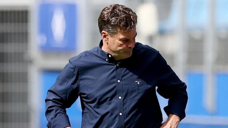 Beim HSV nicht mehr unumstritten: Dieter Hecking