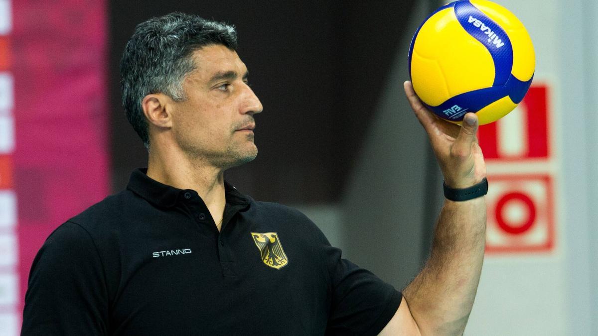 Andrea Giani und die DVV-Herren haben gegen Polen verloren