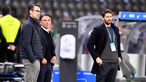 Die Berliner Verantwortlichen waren mit der Schiedsrichterleistung am Samstagnachmittag unzufrieden