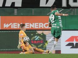Rapid scheiterte gegen die Austria am glänzenden Pentz und an sich selbst