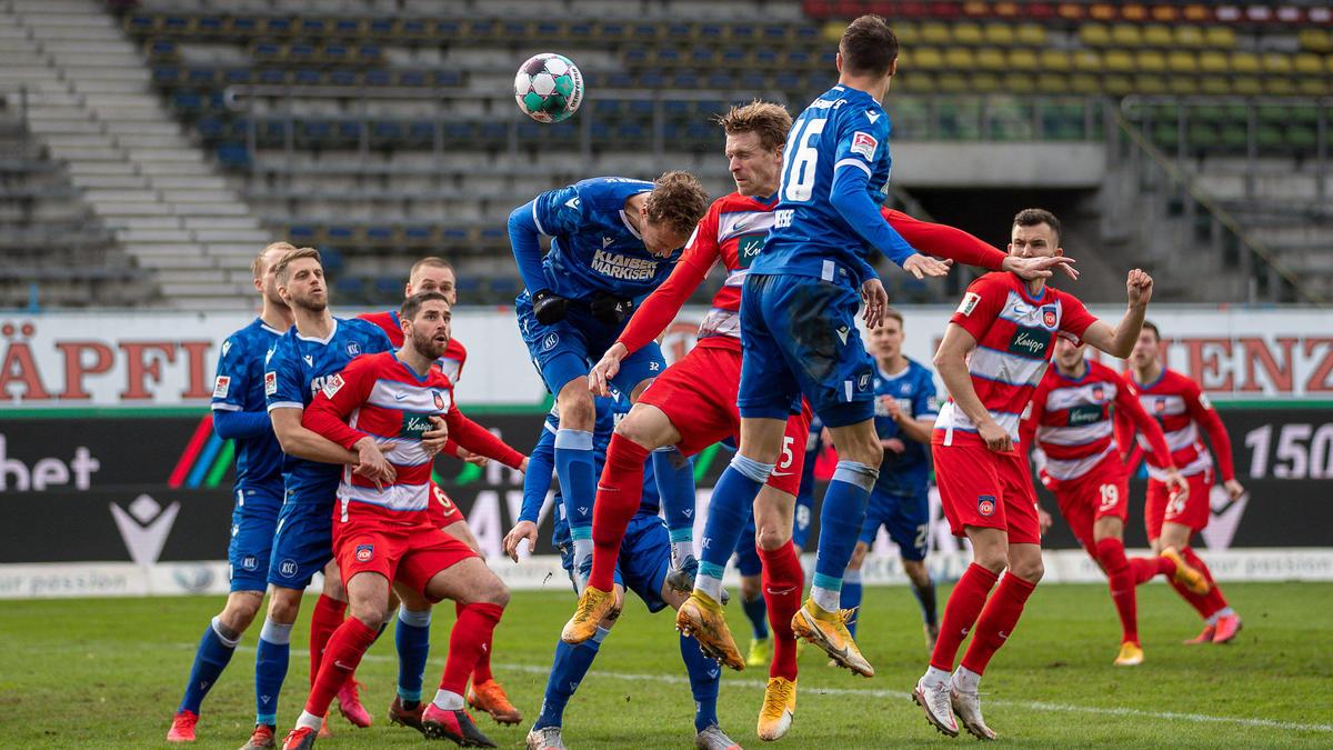 Keinen Sieger gab es zwischen dem KSC und Heidenheim