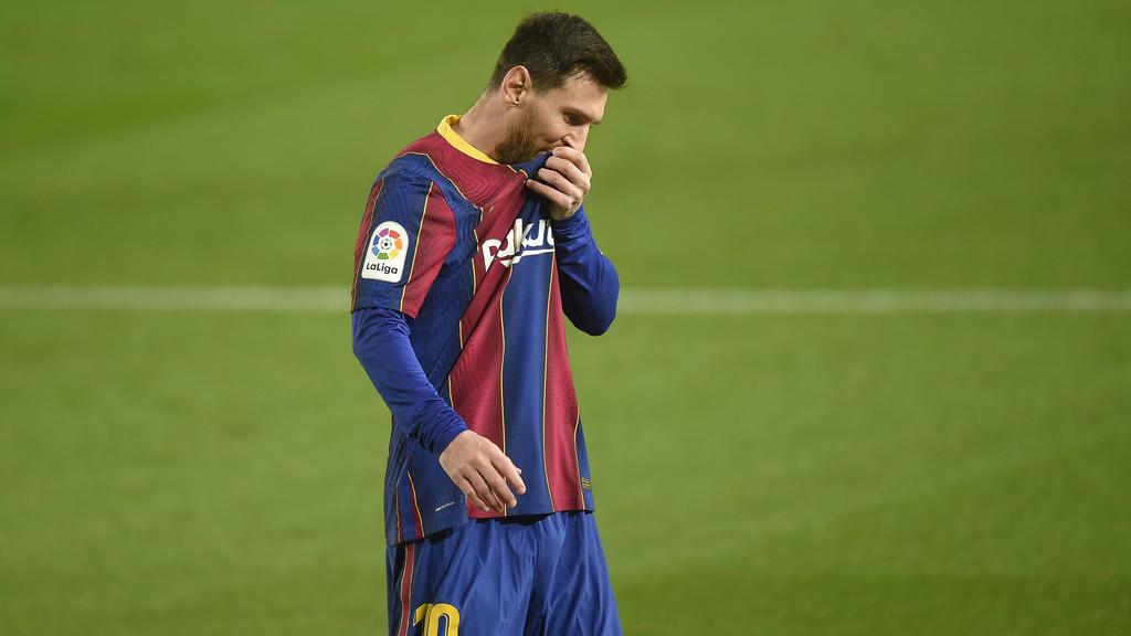 Die Zukunft von Lionel Messi beim FC Barcelona ist ungewiss