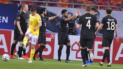Die deutsche Nationalmannschaft gewinnt in Rumänien