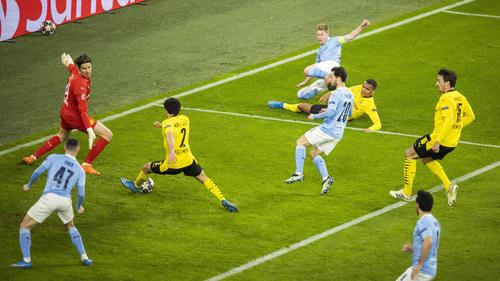 BVB verpasst Sensation gegen Manchester City