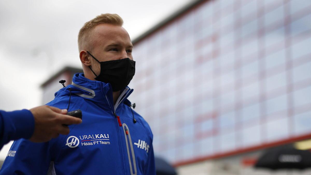 Nikita Mazepin absolviert seine erste Saison in der Formel 1