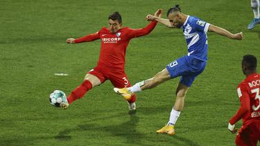 Serdar Dursun (r.) traf doppelt gegen den VfL
