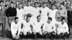 Real Madrid gewann 1956 den allerersten Europapokal