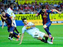 Barca mit Crunch-Time-Sieg in Sevilla