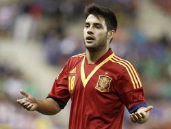 U21-Nationalspieler Carles Gil darf mit Elche nicht gegen seinen Stammverein Valencia antreten