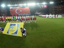 Müde Nullnummer beim Freundschaftsspiel zwischen der Türkei und Russland