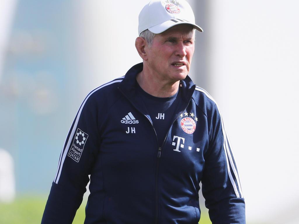 Bayern-Trainer Jupp Heynckes ist immer noch krank
