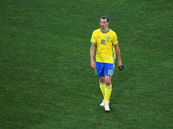 Hatte sein Karriereende in der Nationalmannschaft bereits verkündet: Zlatan Ibrahimovic