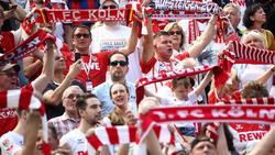 Die Effzeh-Fans fiebern dem ersten Zweitliga-Heimspiel entgegen