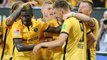 Dynamo Dresden besiegt am ersten Spieltag der 2. Bundesliga den MSV Duisburg