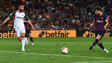 Messi se reencontró con su mejor versión en el Camp Nou. (Foto: Getty)