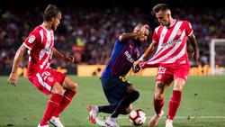 Girona setzte sich gegen Barcas Starensemble erfolgreich zur Wehr