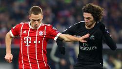 Adrien Rabiot (r.) steht offenbar auf dem Zettel des FC Bayern München