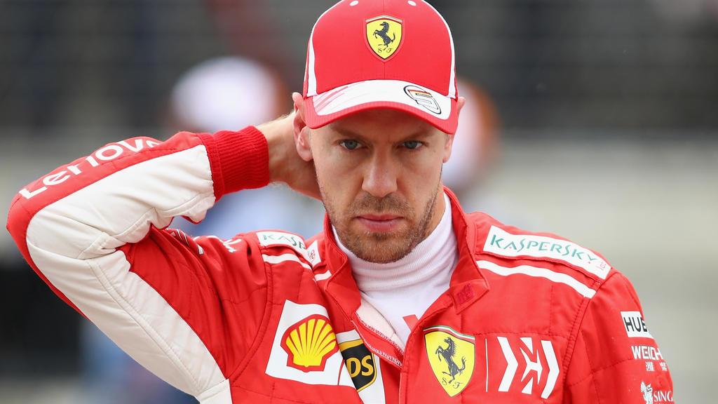 Für Sebastian Vettel verlief der Start in Austin suboptimal